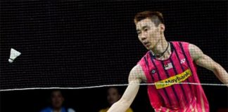 Wish Lee Chong Wei the best of luck in the US Open final.