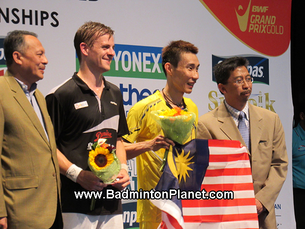 Winning US Open is the best father's day gift for Lee Chong Wei.