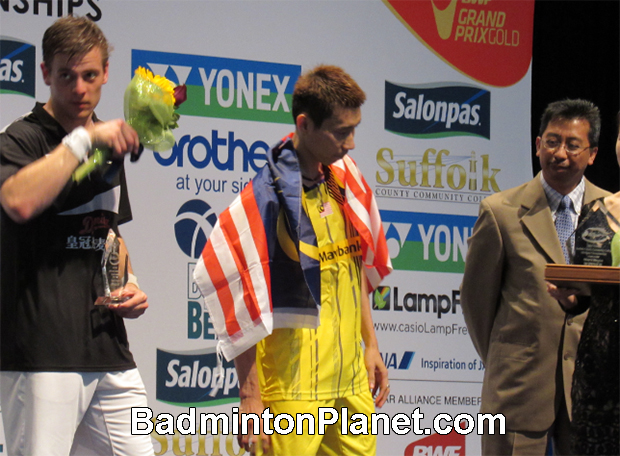 It must be an amazing feeling for Lee Chong Wei to win the US Open, his first individual title in over a year.
