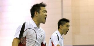 Koo Kien Keat (left) and Tan Boon Heong continue to shine in men's doubles badminton.