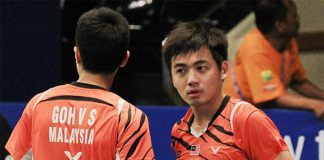 Goh V Shem/Tan Wee Kiong will have a tough match against Vladimir Ivanov/Ivan Sozonov in the final.