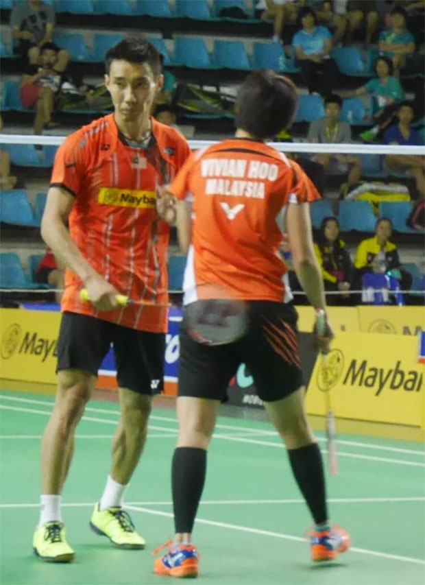 May be Lee Chong Wei should seriously consider playing in doubles after the 2016 Olympics. (photo: Carmen Chong)