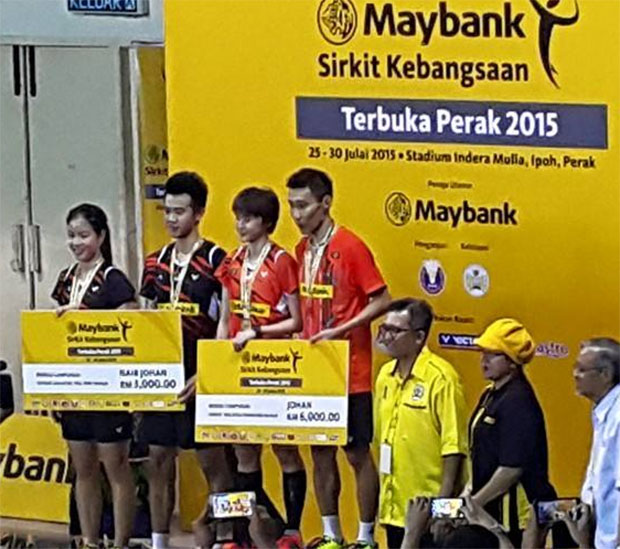 Congratulations Lee Chong Wei and Vivian Hoo on their great win!