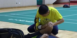 Lin Dan has joined in training with the Chinese national team to prepare for the World Championships.