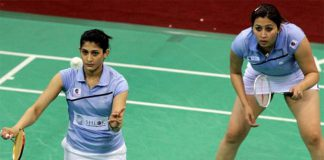 Jwala Gutta (right) and Ashwini Ponnappa are currently at World No. 12