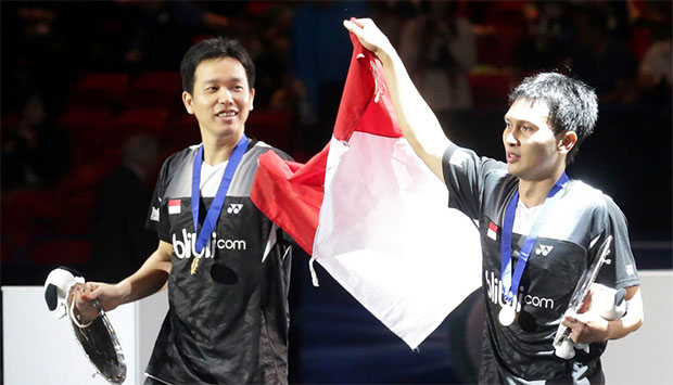 Hendra Setiawan/Mohammad Ahsan is currently ranked No. 3 in the world.
