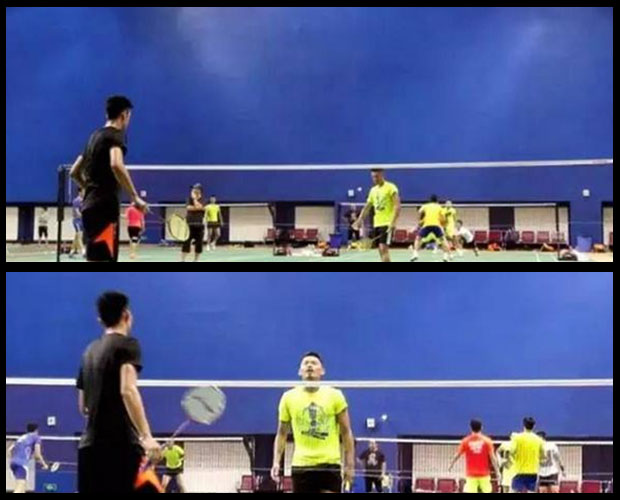 Lin Dan shows he is ready for World Championships by defeating Chen Long at training camp.