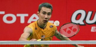 Lee Chong Wei is on course for his maiden world title win. (photo: Reuters)