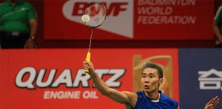 Lee Chong Wei should continue to stay focused, and to take one game at a time. (photo: Reuters)