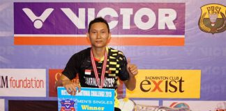 Sony Dwi Kuncoro defies age and doubters with Indonesia International Challenge triumph. (photo: PBSI)
