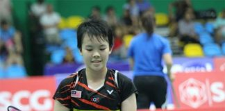 Goh Jin Wei is the best young women's singles talent in Malaysia badminton.