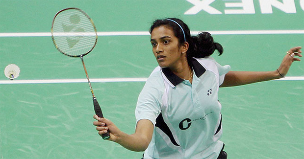 P.V Sindhu has the chance to step up for India in the absence of Saina Nehwal.
