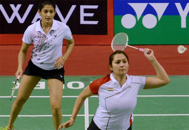 Jwala Gutta and Ashwini Ponnappa included in the Target Olympic Podium Scheme.