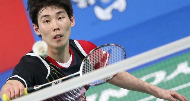 Son Wan Ho upsets Lin Dan at Korea Open. (photo: BWF)