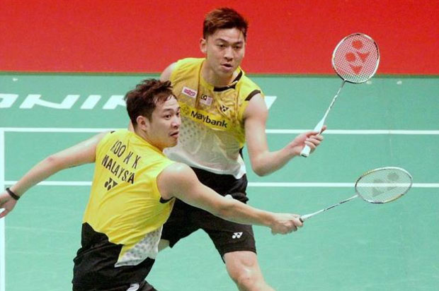 Wish Koo Kien Keat/Tan Boon Heong shine like Diamonds on Thursday.