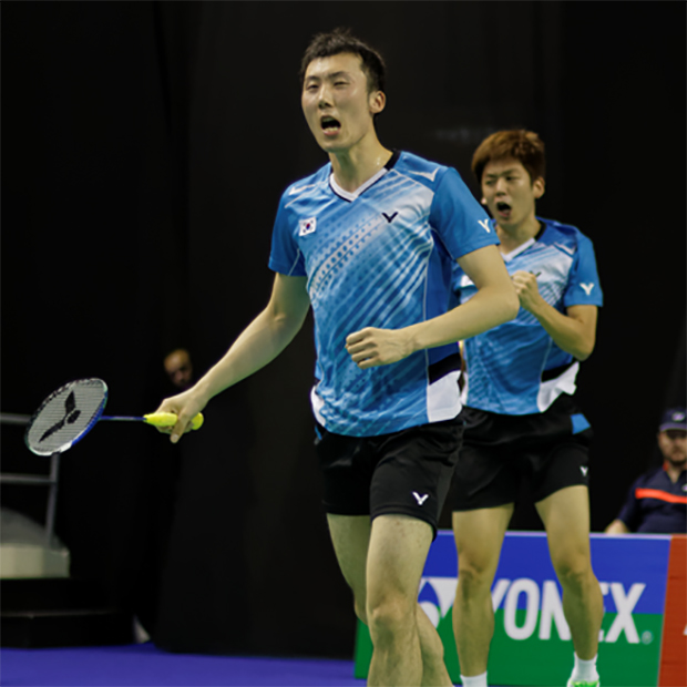 What a performance by Lee Yong-dae and Yoo Yeon Seong in the Korea Open semi-finals.