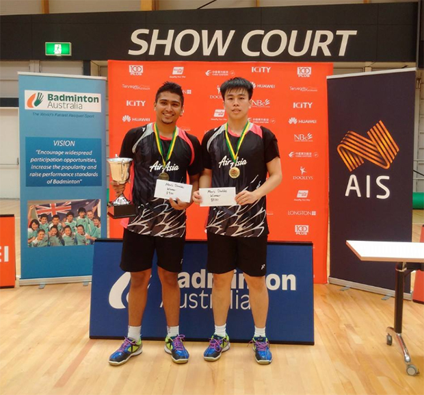 Congratulations to Jagdish Singh (left) and Roni Tan Wee Long! (photo: NSR)