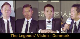 Can't wait to see Peter Gade, Lin Dan, Lee Chong Wei and Taufik Hidayat (from left) in Copenhagen.