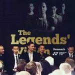 Taufik Hidayat, Lee Chong Wei, Lin Dan, Peter Gade at Legends' Vision in Copenhagen. (photo: Yonex)