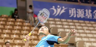 Sony Dwi Kuncoro came into the Chinese Taipei GP open rejuvenated. (photo: TaipeiGP)