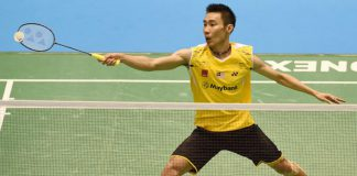 Let's go Lee Chong Wei!