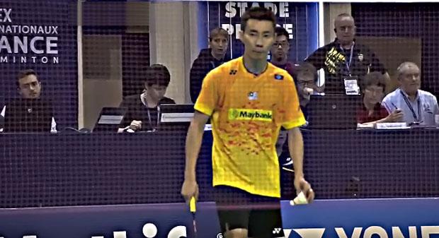 Lee Chong Wei should watch out for Wang Zhengming in the semi-finals.