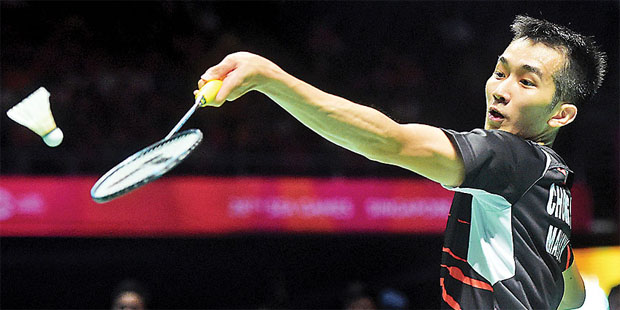 Keep up the good work Chong Wei Feng!