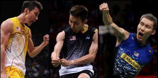 Way to go Lee Chong Wei!