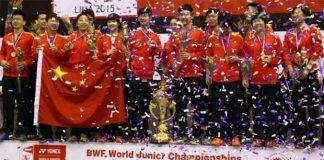 China has a strong talent pipeline to ensure their continued dominance in badminton.