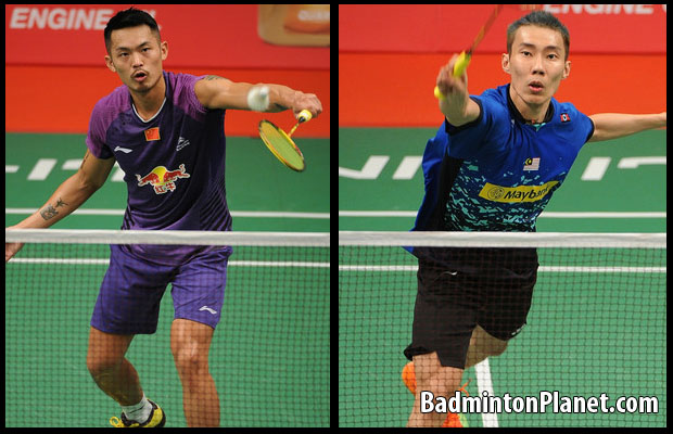Hope Lin Dan (left) and Lee Chong Wei could re-create another epic battle at China Open.