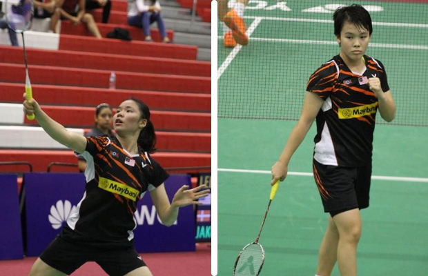 Both Lee Ying Ying (left) and Goh Jin Wei are the future of Malaysian badminton. (photo: BWF)