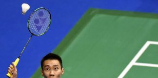 Lee Chong Wei is playing with renewed confidence in Hong Kong. (photo: AFP)