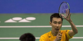 Lee Chong Wei improves his head-to-head record against Chen Long to 11-12 after Friday's victory. (photo: Ocsports)