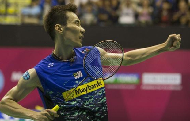It's a good thing for Lee Chong Wei to take some time off from badminton. (photo:oaspcort)