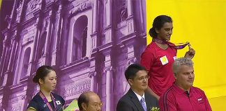Congratulations to P.V Sindhu, another great win!