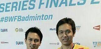 Congratulations to Mohammad Ahsan/Hendra Setiawan! (photo: Mohammad Ahsan/Hendra Setiawan FB)