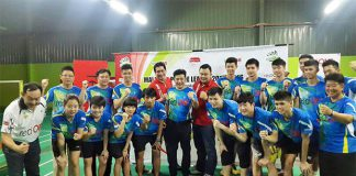 Team Serdang BC. (photo: red ONE)