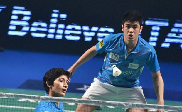 Ashwini Ponnappa and Lim Khim Wah are key mixed doubles players for Bengaluru Topguns. (photo: PTI)