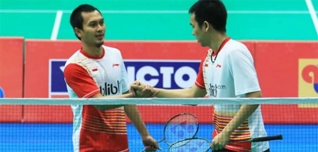 Mohammad Ahsan/Hendra Setiawan bring stability and strength to Indonesia's Badminton Asia Team Championships campaigns.