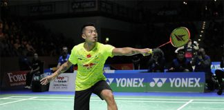 Lin Dan has a 3-1 career records against Chou Tien Chen. (photo: German Open)