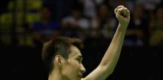 Lee Chong Wei is targeting his fourth All England title in Birmingham this week. (photo: GettyImages)