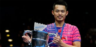 Congratulations to Lin Dan for winning the 2016 All England title! (photo: Reuters)