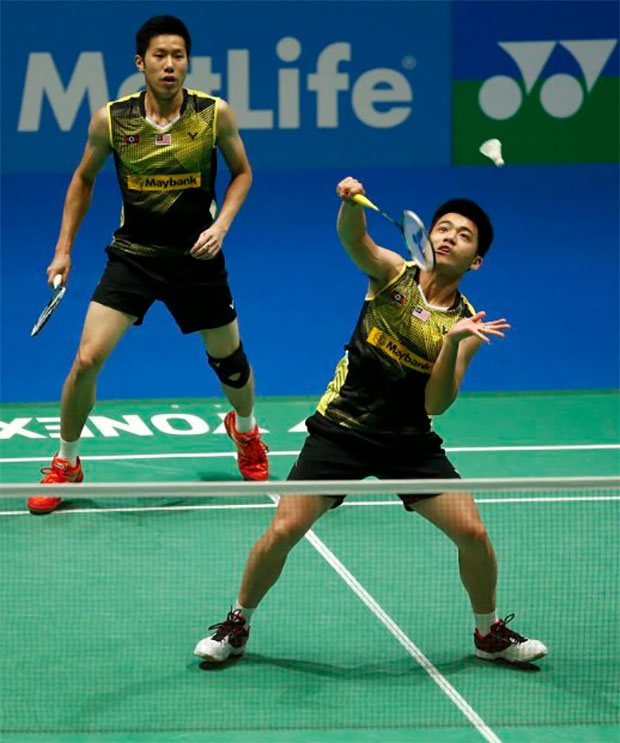 Goh V Shem/Tan Wee Kiong are hoping for a good showing at the Swiss Open. (photo: Reuters)