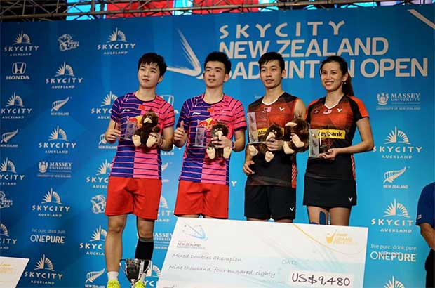 Congratulations to Chan Peng Soon/Goh Liu Ying on their New Zealand Open win. (photo: New Zealand Open)
