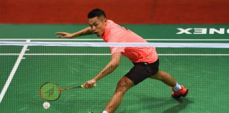 Lin Dan holds a 9-2 record against Son Wan Ho after Thursday's defeat. (photo: AFP)