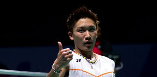 Hope Kento Momota could stay strong and positive during the difficult times. (photo: GettyImages)
