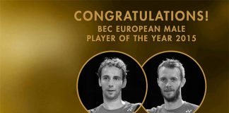Badminton fans can't wait to see Mathias Boe and Carsten Mogensen back in action. (photo: Bamdinton Europe)