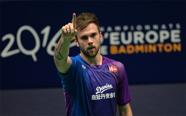Jan O. Jorgensen is ready to defend his European Championships title on Sunday. (photo: GettyImages)