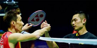Lee Chong Wei beats Lin Dan to enter 2016 Asia Badminton Championships final. (photo: GettyImages)