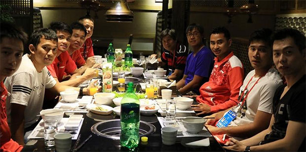 Indonesia's Thomas Cup team. (photo: BadmintonIndonesia)